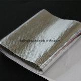 Bande de fibre de verre enduite par aluminium r3fléchissant de la chaleur radiante de température élevée