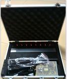 16W jammer do Desktop 3G 4G WiFi Bluetooth GPS Lojack das antenas do poder superior 8