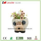 Plantadores encantadores do jardim da estátua do galo da resina para a decoração Home