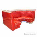 (SP-KS337) Round Shiny Modern Kaffeestube Booth PU-Leather für Sale