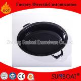 Dispositivo do Kitchenware da galinha de Turquia da bandeja do esmalte do Roaster/do esmalte de Sunboat