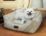 Melhor cama de estimação de linho para cachorro e gato
