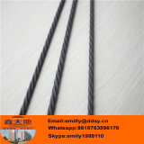 alambre de la PC de 6.25m m para el material de construcción