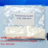 Antiestrogenのステロイドの粉のTestolactoneのアセテートCAS 968-93-4