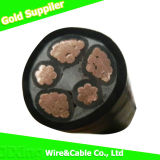 Cable eléctrico subterráneo aislado/cable eléctrico flexible del edificio