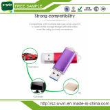 Привод пер USB цветастого привода вспышки USB пластмассы изготовленный на заказ
