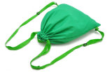 Sacos de Drawstring da forma do verde do presente da promoção
