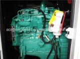 60Hz Diesel van Cummins 125kVA Stille Generator in drie stadia