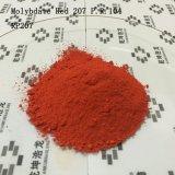 Plástico e vermelho usado borracha 207 do molibdato