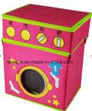 Kind-Ablagekasten-Schemel mit Waschmaschine-Entwurf (GSA9165)