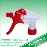 Forte spruzzatore di Triger dell'acqua del giardino dello spruzzatore rosso di plastica di innesco