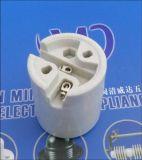 Keramischer Lampen-Halter des Porzellan-E26