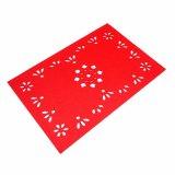 3mm u. 5mm förderndes Polyester 100% Placemat für Tischplatte-und Weihnachtsdekorationen