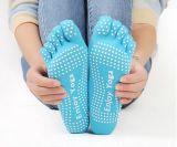 Насладитесь носком пальца ноги спорта 5 OEM йоги