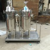 Carcaça de filtro industrial do saco do duplex do aço inoxidável de aço inoxidável 316 para a filtragem do produto químico e do petróleo
