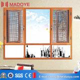 Qualitäts-thermischer Bruch-Aluminiumflügelfenster-Fenster