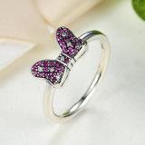 Minnie 925 de Echte Zilveren Reeks van de Juwelen van de Oorringen van de Ring
