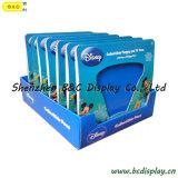 Boîte de présentation estampée par qualité de vente chaude de PDQ, cadre de papier de compteur avec GV (B&C-D059)