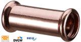 WRAS aprobación de cobre recta acoplamiento