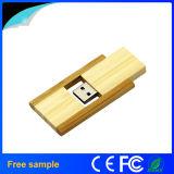 Disque instantané de rotation en bois rectangulaire en gros de 4GB Pendrive