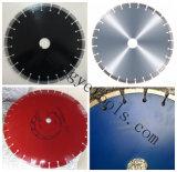 Hoja de sierra de diamante para asfalto y material abrasivo