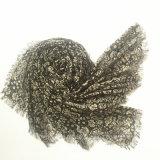 Il modo delicatamente si assottiglia ha stampato lo scialle viscoso di 100% (H724)