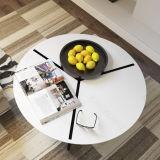 Искусственная каменная обедая таблица чая мебели малая круглая для гостиницы
