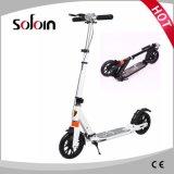 セリウムは承認した200mm PUの車輪(SZKS007)が付いている大人のアルミ合金の蹴りのスクーターを