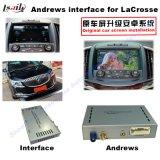 GPS de Androïde VideoInterface van de Navigatie voor Lacrosse Buick/voorziet