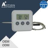 Thermomètre multifonction de cuisine à barbecue numérique avec sonde et minuterie