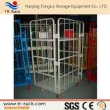 Carrello logistico pieghevole d'acciaio della Tabella per memoria del magazzino