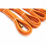 """1/4 """" Zoll - Hochleistungs- orange LPG-Gummischlauch-Befestigungen"""