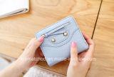 Pochettes de cuir véritable de bourse de femmes avec la bourse de cuir de qualité de détenteur de carte pour la pochette femelle d'embrayage de Smartphone
