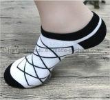 Black&White einfache Streifen-Freizeit-Art-Socke