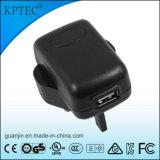 chargeur de 5V 1A USB avec la fiche de 3pin R-U