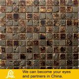 Mozaïek van het Glas van de Mengeling van het Mozaïek van de steen het Gouden met de Behandeling van het Metaal