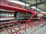 Semi Aanhangwagen van de Tanker van het Cement van de V-vorm de Bulk