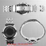 Het Horloge van de knappe Slimme Mensen van het Kwarts met de Riem Fs631 van het Roestvrij staal