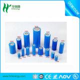 Paquete de la batería recargable de LiFePO4 2000mAh 22650 para la luz solar