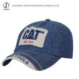 デニムの野球のCajpのジーンズのスポーツの帽子によって洗浄される野球帽のゴルフ帽の方法帽子