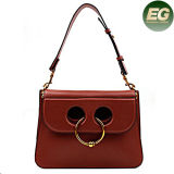 Sac d'épaule neuf de Madame Handbags Genuine Smooth Leather du modèle 2017 Emg4897