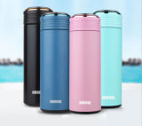 17oz, 500ml double mur portatif 18/8 304 thermos de flacon de vide d'acier inoxydable