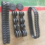 Trilha de borracha pequena para a estrutura da trilha de ATV/SUV/UTV/Rubber