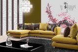 Stressless y sofá seccional cómodo de la esquina de la tela