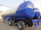 よい価格25ton 59.5m3の液体ガスのタンカーのトレーラー