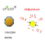 diodo emissor de luz 3W 5W da C.A. de 110V 220V para o G9