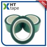 bande épaisse de vert d'animal familier de silicones de 0.06 millimètre pour le masquage de peinture