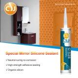 Puate d'étanchéité de haute résistance de silicones pour le miroir