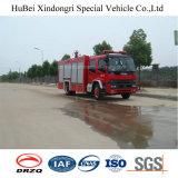 8ton Isuzu 물 탱크 유형 화재 싸움 엔진 트럭 유로 4