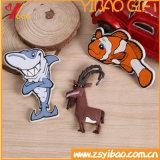 Aangepaste hoge kwaliteit 3D Animal Shaped PVC Magneten